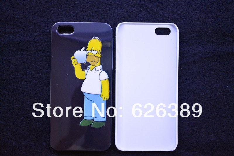 New Homer Simpsons hard cases cover for iphone 5 cell phone case covers to iphon5 free shipping on Aliexpress.com