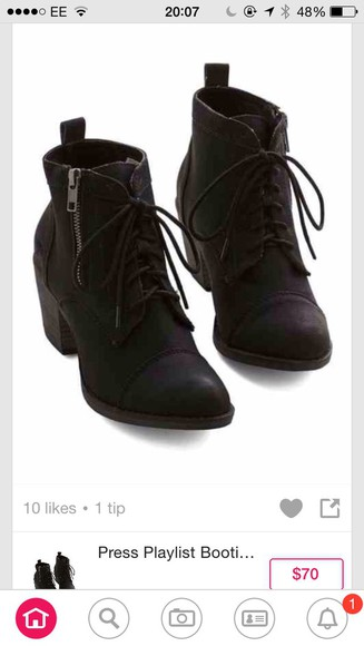 boots ankle boots black i want them
