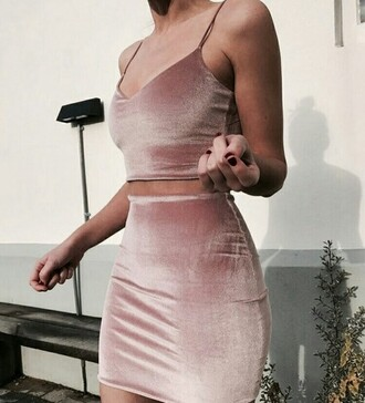 dress light pink light pink dress feminine look