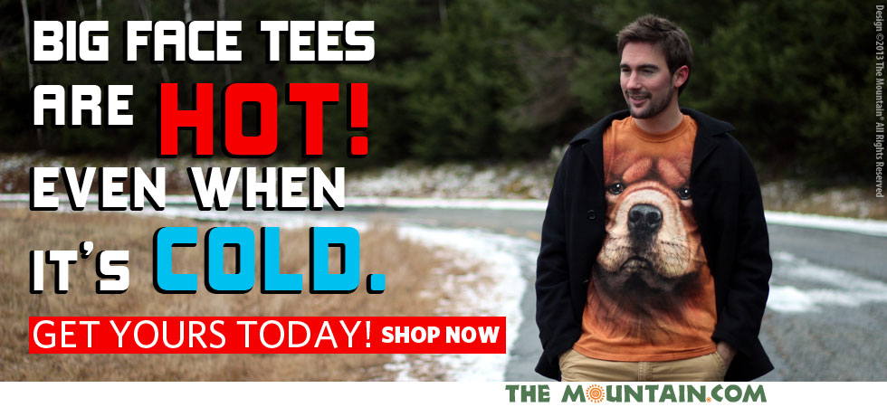 The Mountain T-Shirts home of Big Face Tees