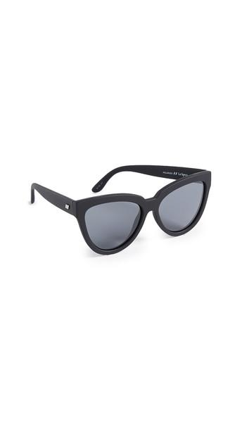 Le Specs Liar Liar Sunglasses in black