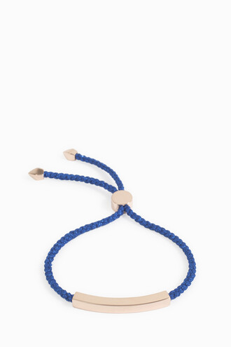 friendship bracelet women navy jewels