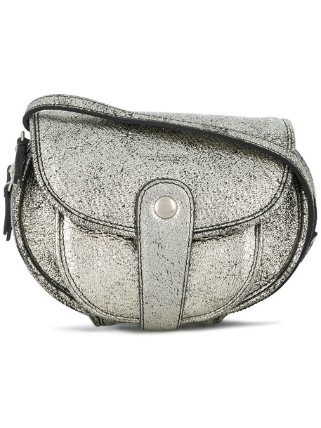 Jerome Dreyfuss women bag crossbody bag grey metallic