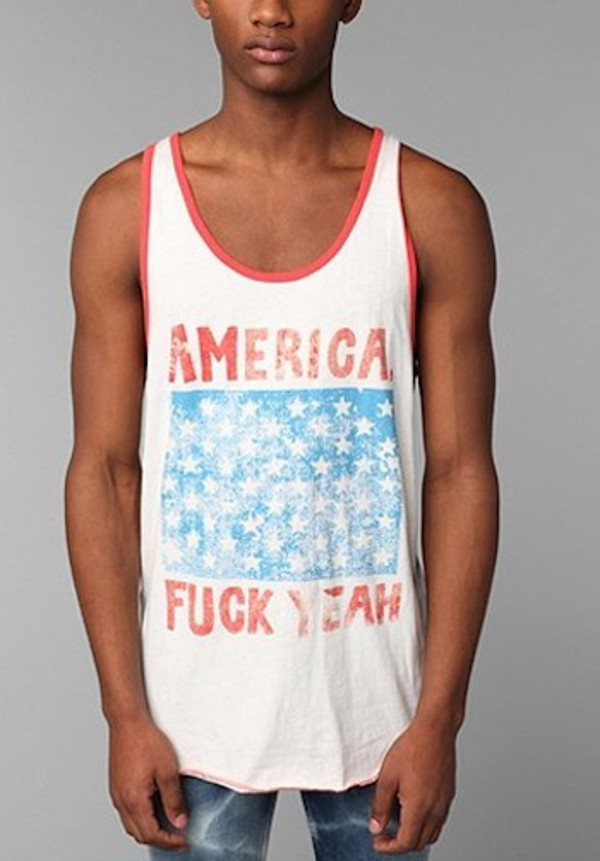 tank top top topshop mens t-shirt