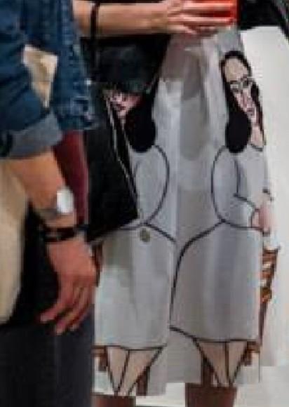 print portrait portrait print painting woman