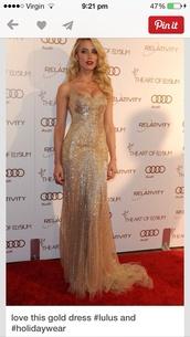 dress,gold,gold sequins,evening dress,pleated