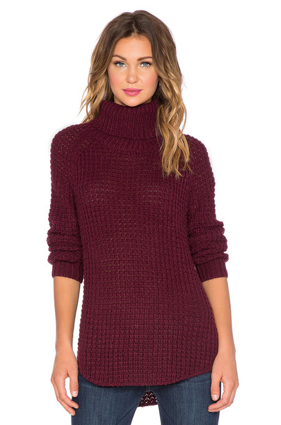 tHE FIFTH LABEL pullover knit burgundy
