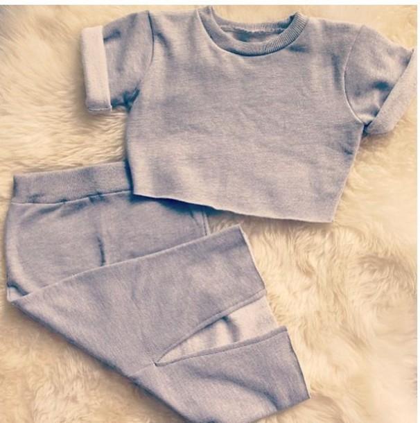 skirt sweats midi skirt crop tops sweatshirt