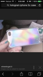 jewels,phone cover,holographic iphone 5s  case