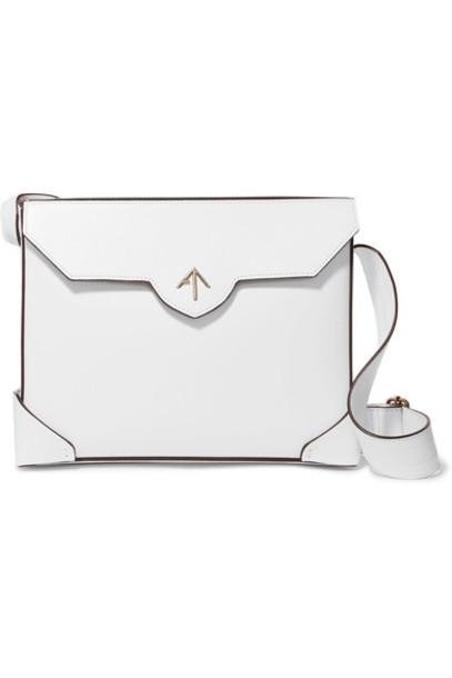 manu atelier bag shoulder bag leather white