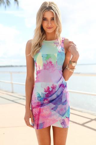 SABO SKIRT Laguna Drape Dress - $58.00   Keep.com