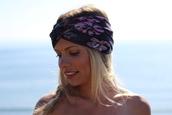 scarf,turban,turband,headband,chic,bohemian,beach,floral headband,hat,purple,Accessory,blonde hair,girl,hairstyles