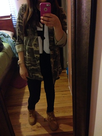 jacket army camouflage military