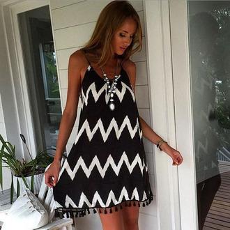 dress striped dress