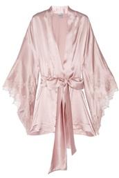 pajamas,pink,silk,lace,robes