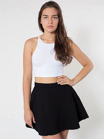 American Apparel - Natural Denim Circle Skirt