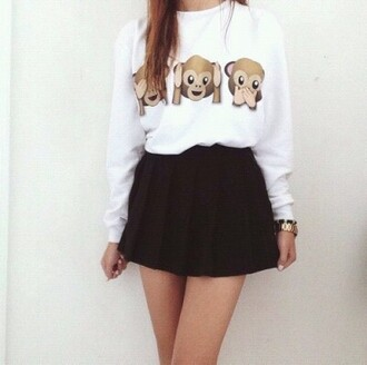 dress clothes outfits summer tee shirt make-up girl watch gurnge hipster indie leggings wow black and white see no evil jewels blouse