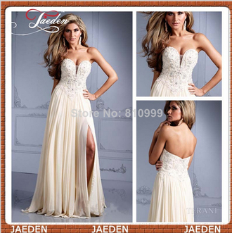 beige dress chiffon dress sexy dress sexy evening dresses sweetheart dresses chiffon sexy prom dresses