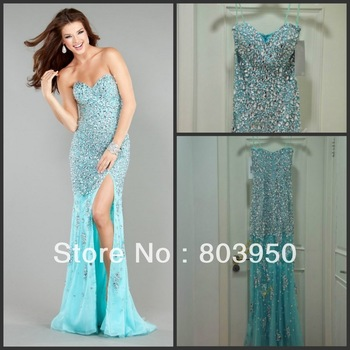 Aliexpress.com : Buy Fall 2013 Strapless Sweetheart Ruched Dropped Waist Chiffon A line Evening Dress With Front Side Slit And Sweep Train from Reliable chiffon mini dress suppliers on Love Kiss Evening Dress and Wedding Dress Manufactory