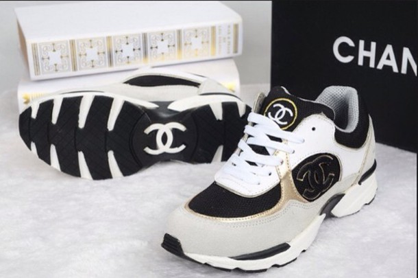 shoes blanc chanel shoes