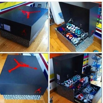 bag shoes home accessory jordans storage
