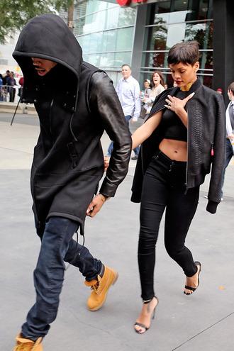 jacket leather jacket black leather jacket edgy