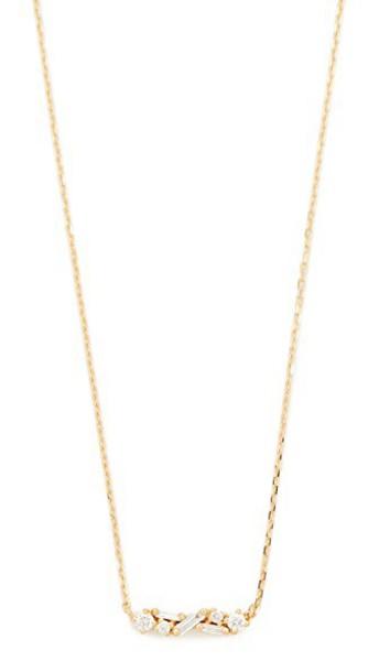 Suzanne Kalan necklace diamond necklace gold yellow jewels