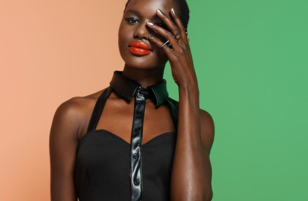 jewels nasty gal nastygal nastygal.com shopnastygal.com corset top black black top bustier black bustier spike ring spikes jewelry ring shirt