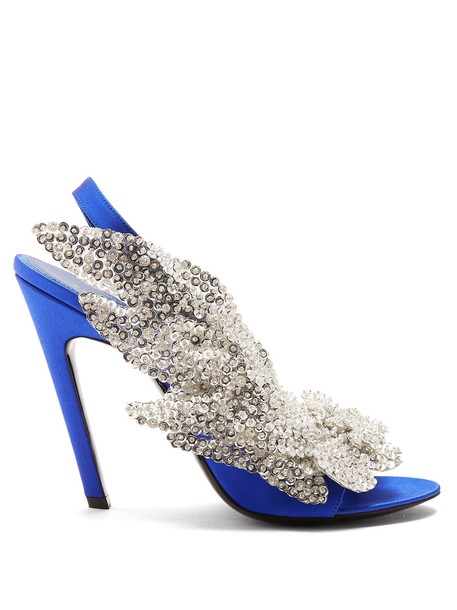 Balenciaga pumps blue shoes
