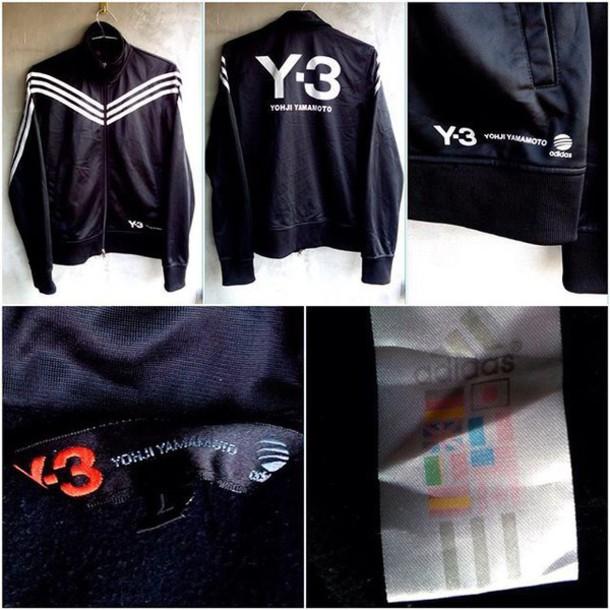 9b3f8ca65bd4 jacket adidas adidas originals adidas jacket rare very rare yohji yamamoto y -3 adidas tracksuit