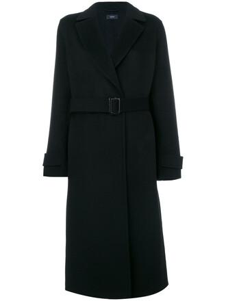 coat long women cotton wool