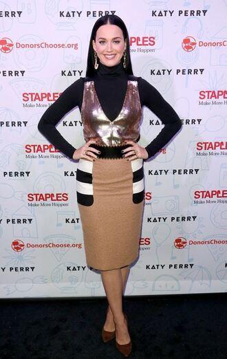 skirt top midi skirt katy perry pumps