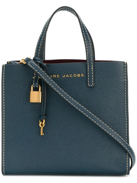 Marc Jacobs mini women bag crossbody bag leather blue