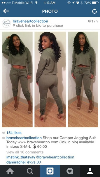 crop tops cropped hoodie fitted sweater olive green