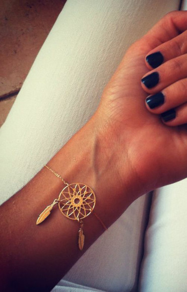 jewels dreamcatcher dream catcher bracelet dreamcatcher jewelry bracelets dream dreamcatcher bracelet bracelets gold dream catcher bracelets dream catcher jewelry bohemian bracelet boho bohemian fashion boho jewelry trends jewelry bracelet dreams trendy