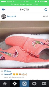 shoes,coral