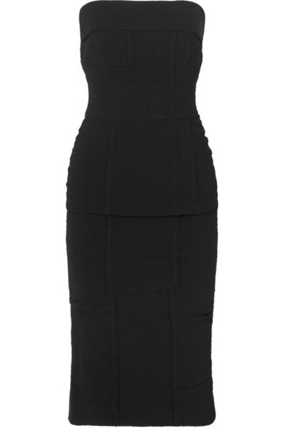 Tom Ford dress patchwork black