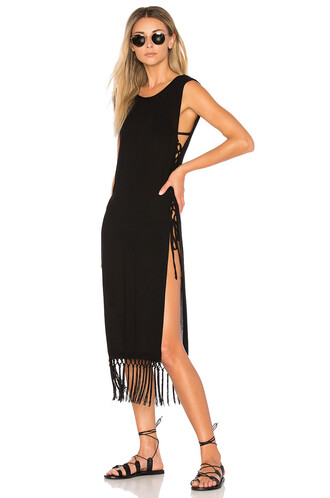 cover up moon black swimwear