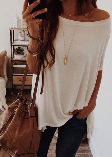 Bag: bucket bag, cute, outfit, fall outfits, fall bag, leather ...
