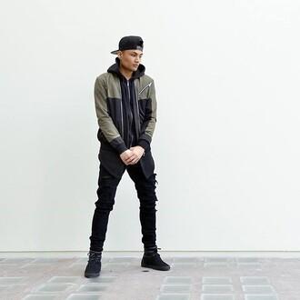 jacket maniere de voir bomber jacket khaki black