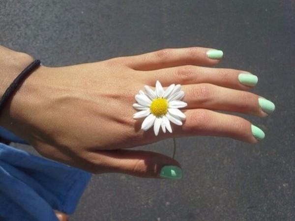 nail polish mint