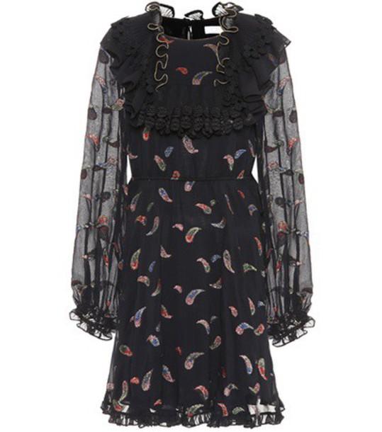 Chloe dress silk black