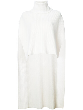 cape women white top