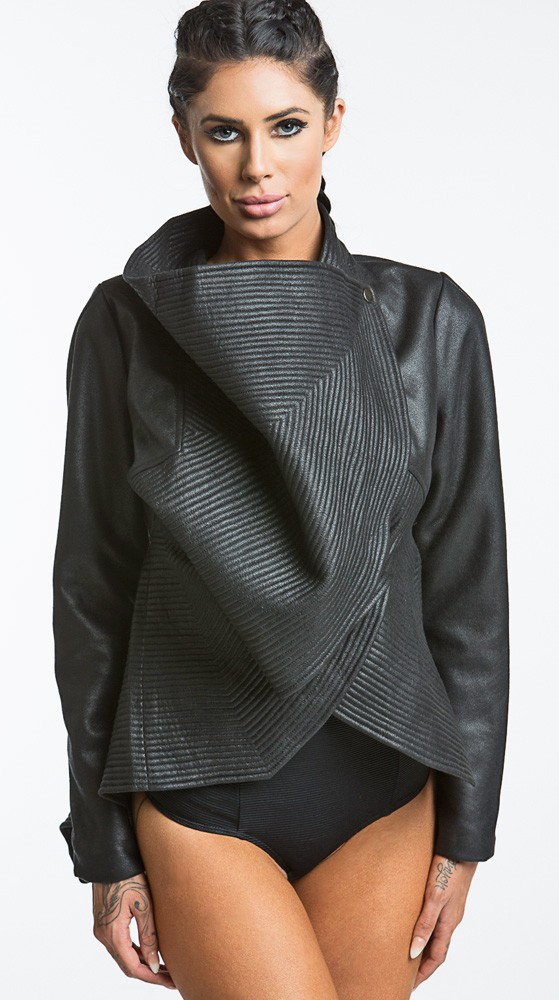 Salt black outerwear