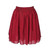 Chiffon Short Skirt - Port