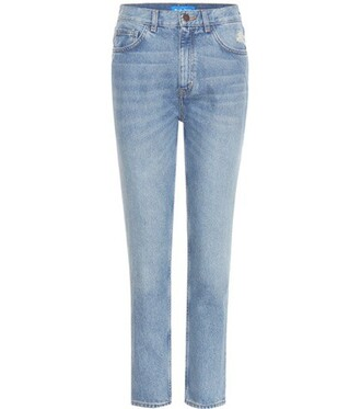 jeans high blue