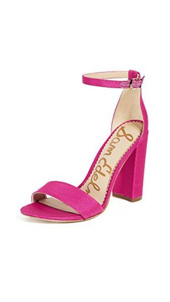 Sam Edelman sandals pink magenta shoes