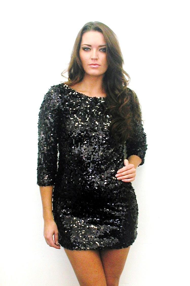 Black Dress La Cienega Long Sleeve UsTrendy
