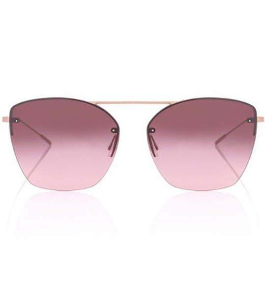 Oliver Peoples sunglasses purple