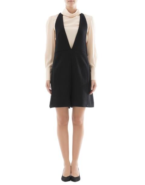 Chloe dress black wool